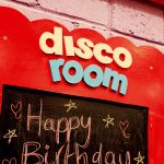 Giddy Kippers Disco Party Room